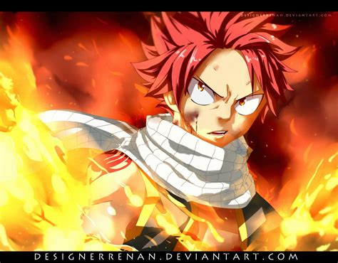 imagenes epicas de fairy tail fairy tail 477 natsu was burning by designerrenan on