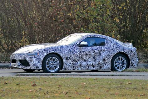 Toyota Supra New Toyota Supra Spied Pictures Auto Express