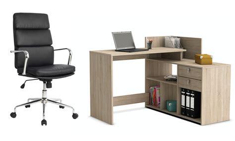 sedie scrivanie scrivanie e sedie da ufficio groupon goods