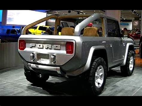 bronco jeep 2017 ford bronco 2017 changes design engine review