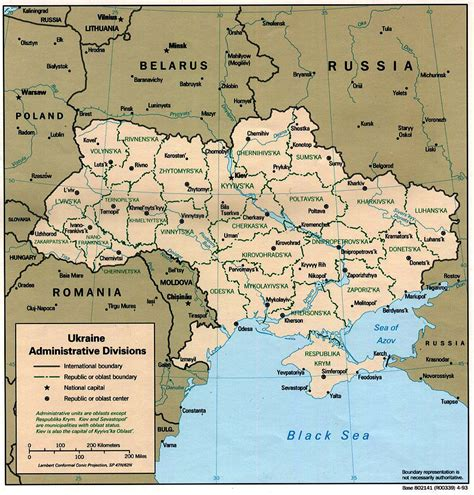 map of europe ukraine russia administrative map of ukraine ukraine administrative map
