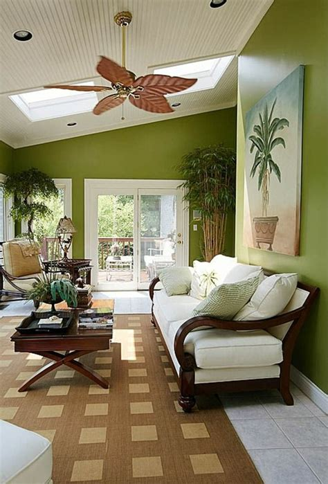 deko wohnzimmer grün dekoration wohnzimmer vasen