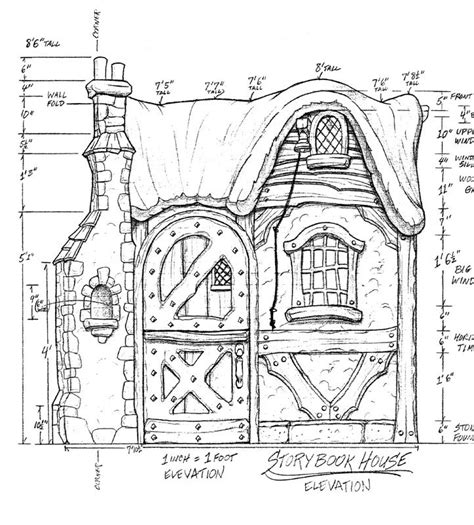 storybook cottage floor plans storybook cottage plans house design