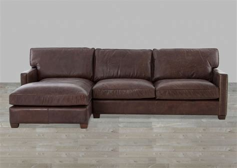 real leather sectional with chaise genuine leather sectional with chaise vintage cigar top