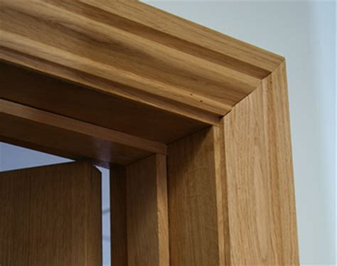 Single Door Design by Ogee Oak Architrave Oak Architrave