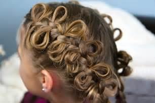 The bow braid cute braided hairstyles
