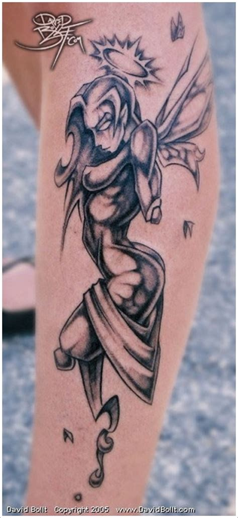 40 and fairy tattoo designs for women and men
