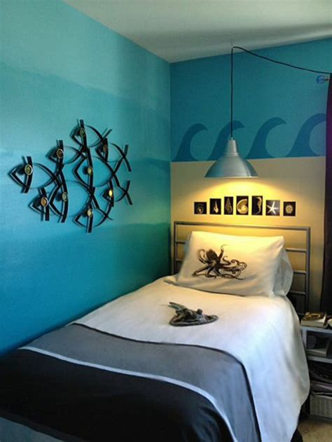 ocean themed bedroom ideas colour design of covers youth room 100 decoration and