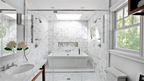 Bathroom White Tiles Dark Grout Designs   YouTube