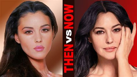 monica bellucci and monica bellucci life from 1 to 53 years old youtube