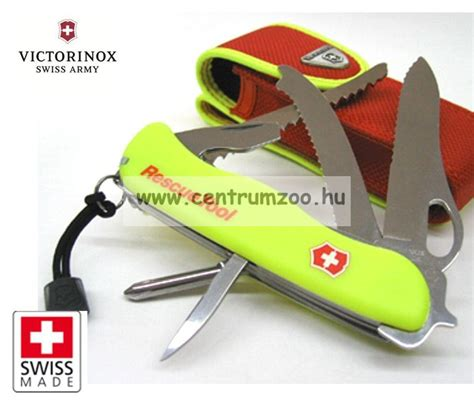 swiss army rescue tool victorinox swiss army rescue tool one zsebk 233 s sv 225 jci
