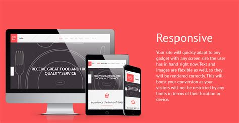 best premium cooking responsive joomla templates