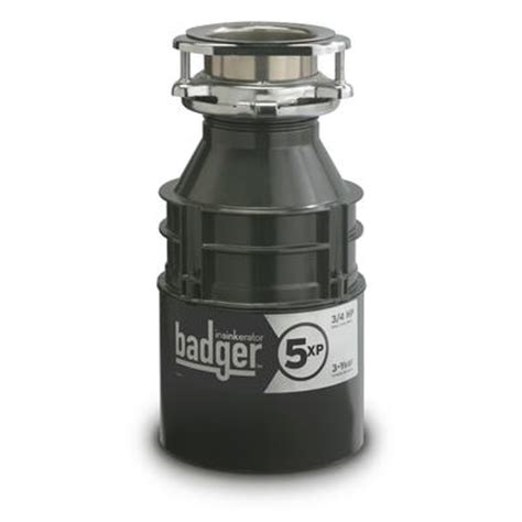 insinkerator badger 5xp food waste disposer home depot