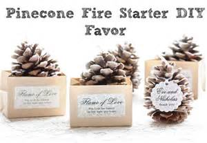 Diy Rustic Wedding Favors by Pinecone Starter Wedding Favor Rustic Wedding Chic
