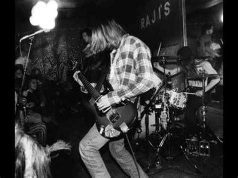 Kaos Nirvana Black Uk nirvana live buzz 1987 two years before their