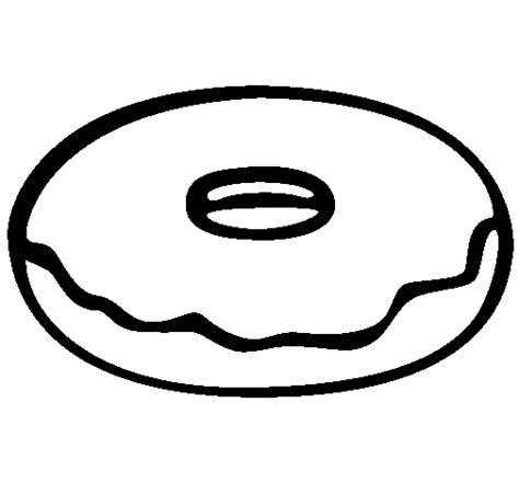 Colored Page Doughnut Painted By Donuts With Daddy Donuts Coloring Pages