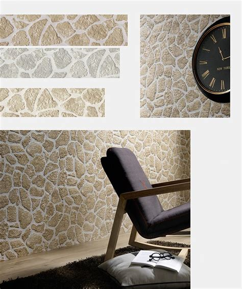 wallpaper for walls bd stone wallpaper in brown and grey design by bd wall