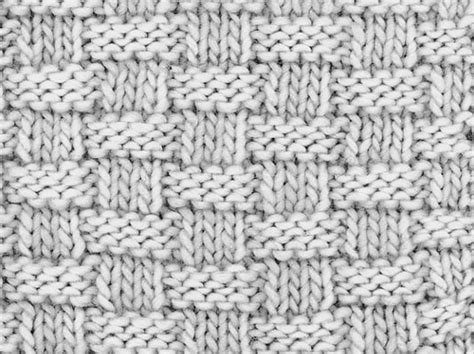 how to knit for dummies how to knit basketweave stitch dummies