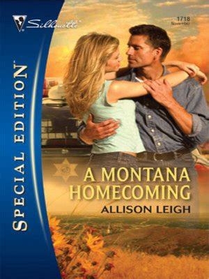 Montana Homecoming a montana homecoming by allison leigh 183 overdrive rakuten