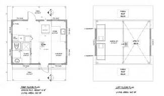 16 X 16 Cabin Floor Plans by 16 X 16 2 Story Cabin Floor Plans Joy Studio Design