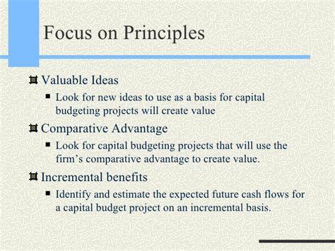 Capital Budgeting Notes For Mba by Capital Budgeting
