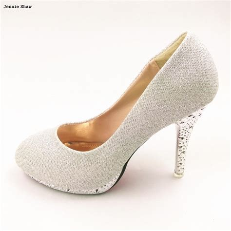 Pumps Highheel Brukat gold high heels green white wedding shoes bridal shoes pumps in s pumps from shoes on
