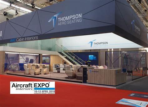 successful aircraft interiors expo  thompson aero
