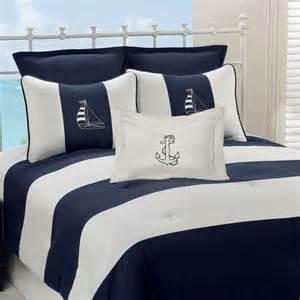 regatta striped nautical comforter bedding