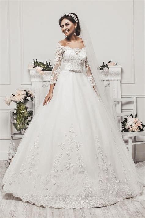 3 4 Length Sleeve Wedding Dress – WEDDING DRESS BUSINESS: Wedding Dress With V neck