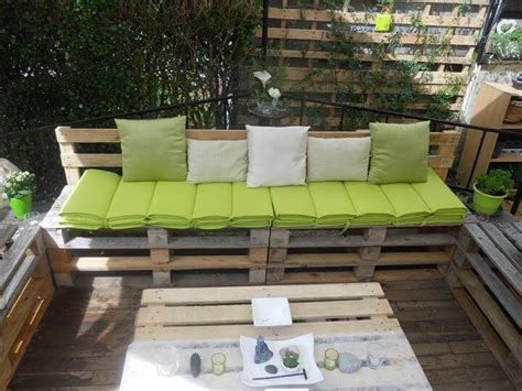 22 Cheap Easy Pallet Outdoor Furniture Diy To Make Patio Furniture Made With Pallets