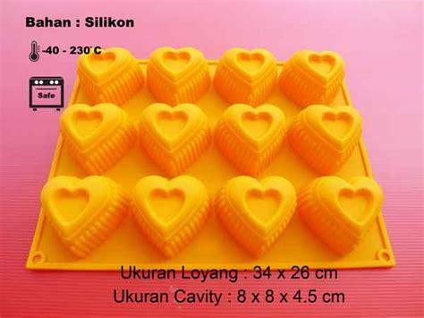 Cetakan Puding Kue Chipmunk 4 Cavity Berkualitas cetakan silikon kue puding medium 12 cavity cetakan