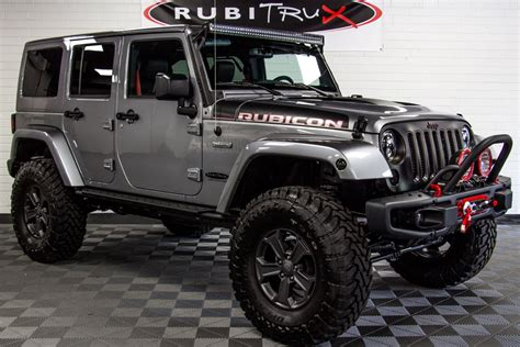 jeep rubicon 2017 jeep wrangler rubicon recon unlimited billet