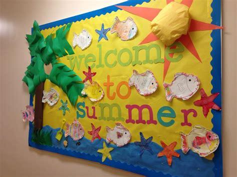 bulletin board ideas preschoolers summer bulletin board pre school summer