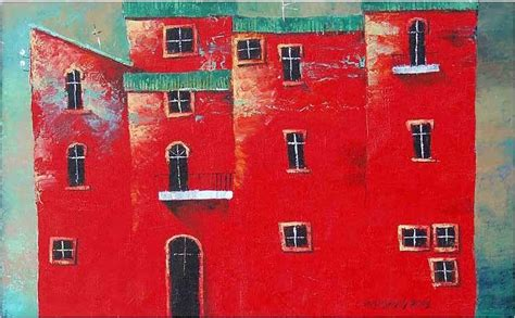 red house painters poster red house painting by tamaz gogoladze
