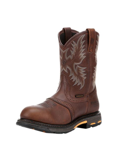boot c for s ariat workhog h2o work boot 10001203jc western 174 wear
