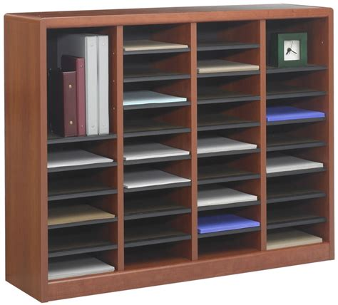 Office Shelf Organizer by Safco Products 9424mo Wood Adjustable