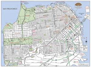 san francisco library map citymapmaker creates printed maps for hotels and restaurants