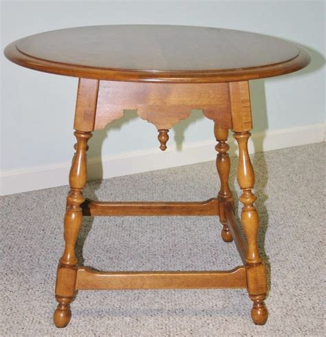 ethan allen occasional tables ethan allen 1776 maple occasional table furniture