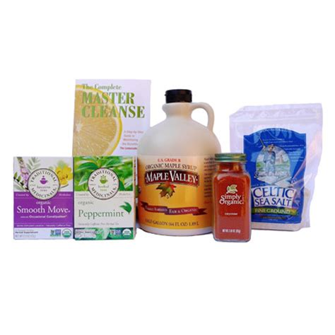 Mike Health Ranger Detox Lemonade by Organic Master Cleanse Kit 64 Oz By Maple Valley The