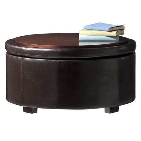 ottoman storage target leather storage ottoman table at target decor pinterest