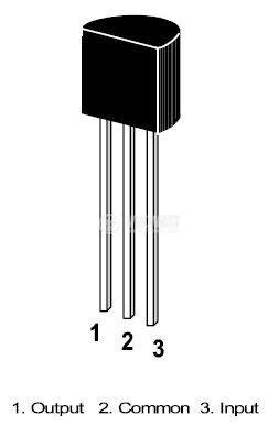 integrated circuit voltage regulator integrated circuit 78l08 positive voltage regulator 8v 0 1a