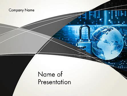 Cybersecurity Presentation Template For Powerpoint And Keynote Ppt Star Cyber Security Powerpoint Templates Free