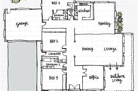how to sketch a floor plan what is a floor plan and can you build a house with it
