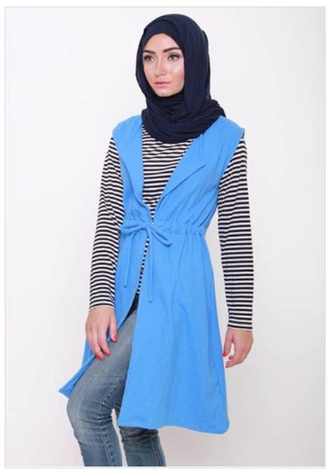 Model Baju Muslim Wanita 2016 Contoh Foto Baju Muslim Modern Terbaru 2016 Gambar Baju
