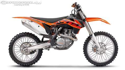 ktm motocross bikes ktm announces 2014 dirt bike line up motorcycle usa