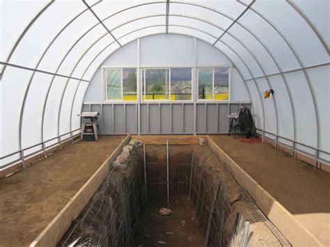 aquaponics greenhouse picture fish tank ft at back