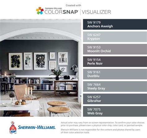 i found these colors with colorsnap 174 visualizer for iphone by sherwin williams anchors aweigh