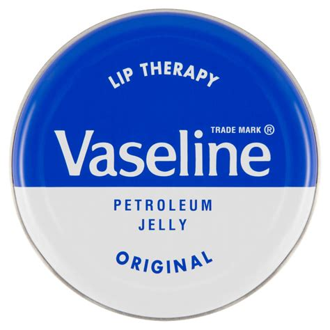 Vaseline Lip Therapy Petroleum Jelly Repairing Jelly 100ml vaseline lip therapy original 20g at wilko