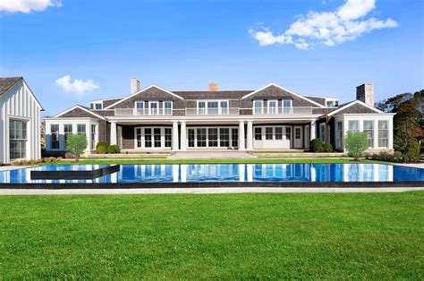 pictures of big houses mecox farm stunning spec house in water mill for sale
