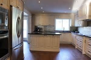 Almond Kitchen Cabinets by Toronto Thornhill Custom Classic Kitchen Design